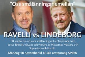 """Thomas Ravelli nästa gäst i """"Oss smålänningar emellan"""""""